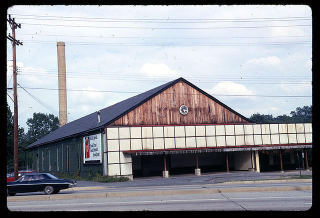 Chevy Chase Lake carbarn, (Sep 1967)