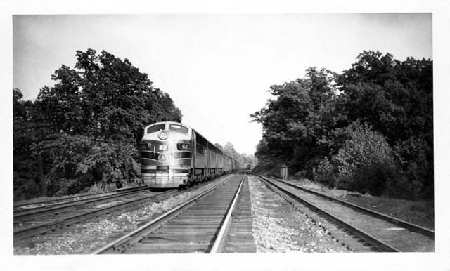 82 makes its way West 5/22/1949