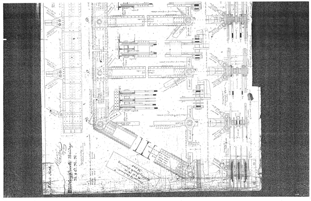 Georgetown Branch - C&O Canal bridge blueprints Page 05