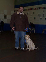 January 18, 2003: Obedience Class