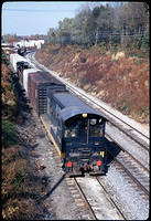 9700 leading a string down the GB, (Dec 1967)