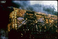 Rock Creek Trestle Fire, 1967