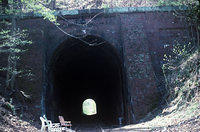 Dalecarlia Tunnel, Apr 1993